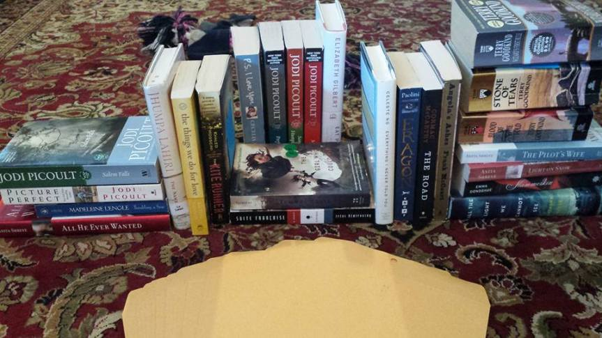 books giveaway